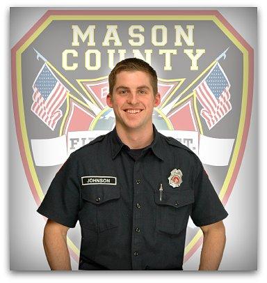 Firefighter EMT Andrew Johnson